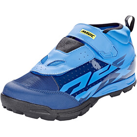 Mavic Deemax Elite Shoes Men Poseidon/Indigo Bun/Black